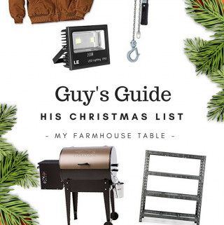 A Guy's Guide His Christmas List Christmas Ideas for Farmers Christmas Gift Ideas for Ranchers Agriculture Christmas Gift Ideas Christmas Present Ideas