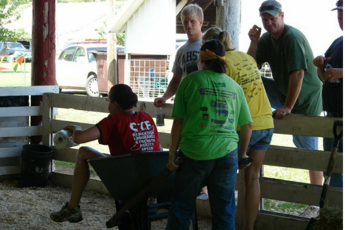 10 Lessons Learned at the County Fair What I learned from 4H What I learned from FFA What I learned showing livestock My Farmhouse Table