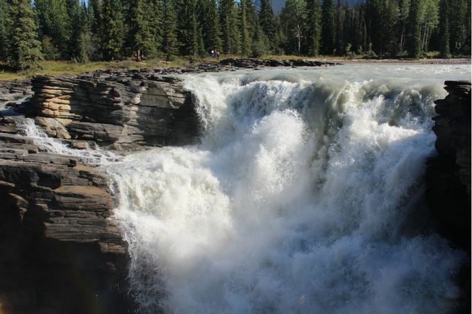 Where to Stop Along Canada's Icefields Parkway My Farmhouse Table Travel Canada Athabasca Falls