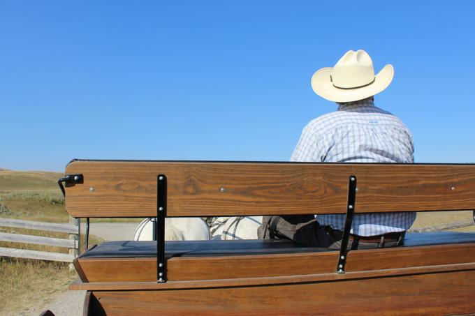 Bar U Ranch Wagon Ride Alberta Foothills My Farmhouse Table