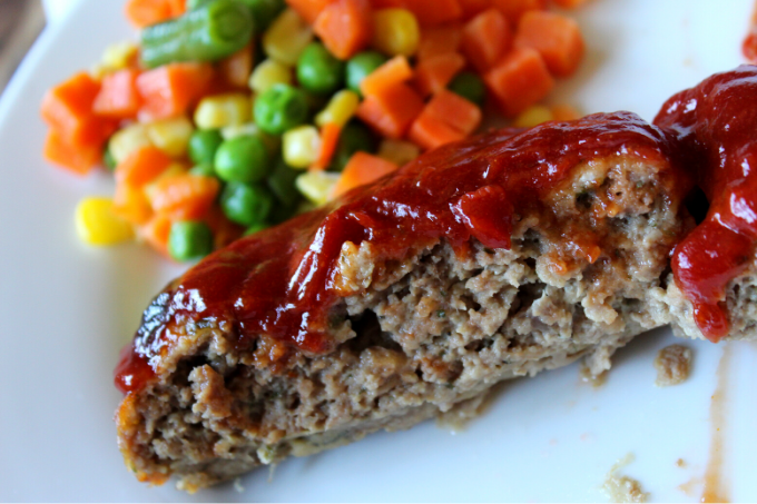 Best BBQ Meatloaf Recipe The Pioneer Woman Easy Quick Simple Classic Meatloaf Recipe Leftover Meatloaf Sandwich Recipe With Bacon Made with 1 lb of ground beef My Farmhouse Table