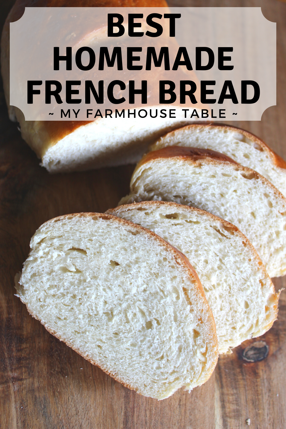 Best Homemade French Bread Recipe Easy and Simple Three Loaves Soft and Delicious Bread Great for Sandwiches or Toast My Farmhouse Table