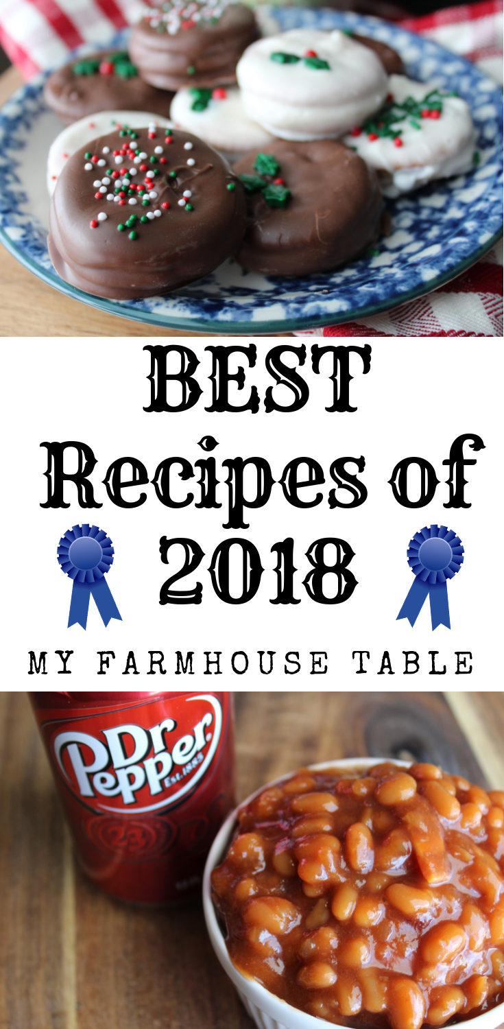 Best Recipes of 2018 The Best Recipes of the Year The Best Breakfast Recipes The Best Easy Dinner Recipes The Best Dessert Recipes My Farmhouse Table