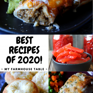 Best Recipes of 2020 The Best Recipes of the Year The Best Breakfast Recipes The Best Easy Dinner Recipes The Best Dessert Recipes My Farmhouse Table