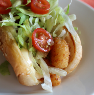 Easy Cajun Shrimp Po Boys Sandwiches Po' Boy Sandwich Recipe Lent Recipe Mardi Gras Recipes New Orleans Louisiana