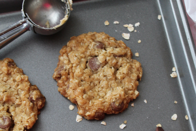 Chocolate Chip Oatmeal Cookies Easy Homemade My Farmhouse Table