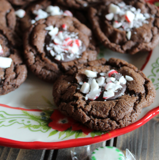 The Pioneer Woman Chocolate Peppermint Cookies Easy Thumbprint Cookies Christmas Cookie Recipes My Farmhouse Table