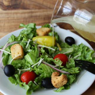 Copycat Olive Garden Salad Dressing Recipe How to Make Olive Garden Salad Dressing at Home Homemade Italian Salad Dressing My Farmhouse Table