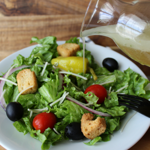 Copycat Olive Garden Salad Dressing - My Farmhouse Table