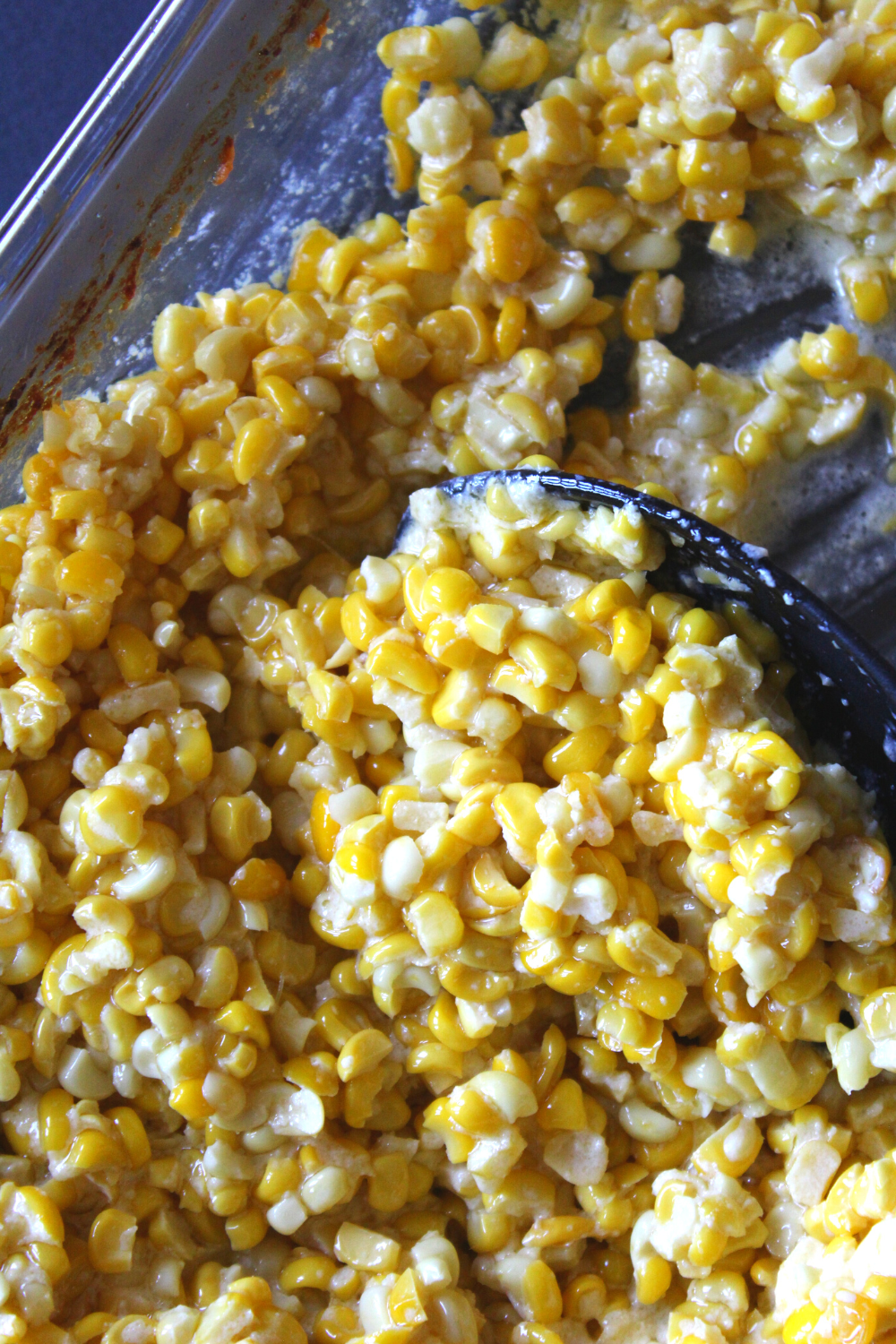 Cream Style Sweet Corn How to Freeze Sweet Corn Creamed-Style Corn Easy Homemade Creamed Corn Recipe My Farmhouse Table