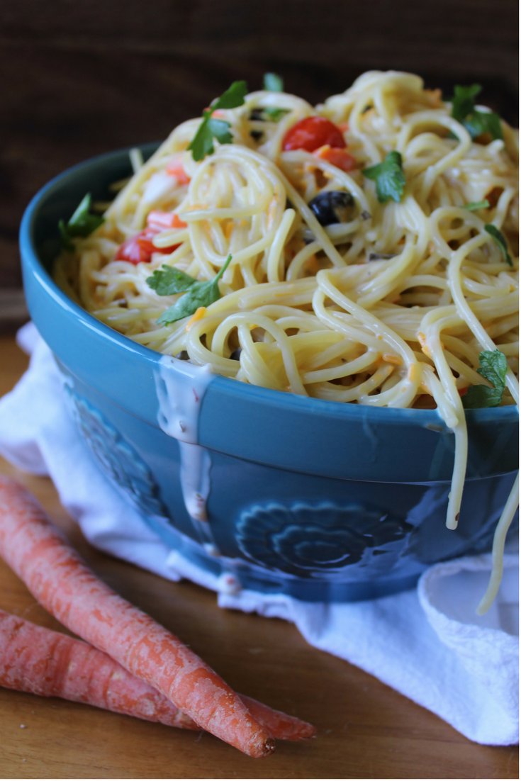 Creamy Italian Pasta Salad My Farmhouse Table Easy