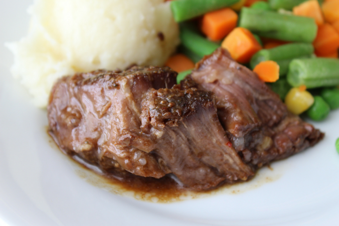 Slow Cooker Beef Pot Roast with Gravy Easy Crockpot Recipes Melt in Your Mouth Beef Recipes The Best Pot Roast Ever Simple Slow Cooker Meals My Farmhouse Table