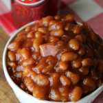 Dr Pepper Baked Beans Easy Baked Bean Recipe Baked Beans with Bacon Homemade Baked Beans Grilling Side Dishes Potluck Side Dish My Farmhouse Table