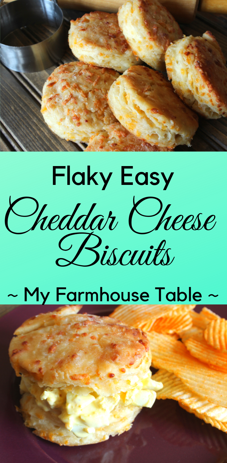 Flaky Cheddar Cheese Biscuits Easy Homemade Biscuit Recipe Buttermilk Biscuit Recipe Biscuit Sandwich Easter Recipes Easter Food Holiday Recipes The Best Bread Recipes My Farmhouse Table