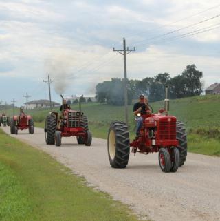 Annual Tractor Ride