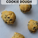 Frozen Chocolate Chip Cookie Dough How to Freeze Cookie Dough The Best Cookie Dough Recipe The Best Freezer Cookies My Farmhouse Table