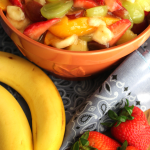 Easy Fruit Salad Recipe Easy Spring Fruit Salad Easter Salad Idea For A Party Fresh Summer Fruit Salad My Farmhouse Table