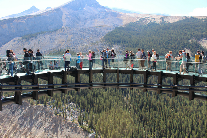 Where to Stop Along Canada's Icefields Parkway My Farmhouse Table Travel Canada Glacier Skywalk