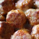 Ham Balls Iowa Midwest Potluck Recipe Freezer Meal My Farmhouse Table