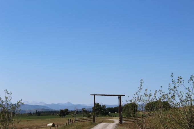 Heartland Ranch Entrance Alberta Foothills My Farmhouse Table
