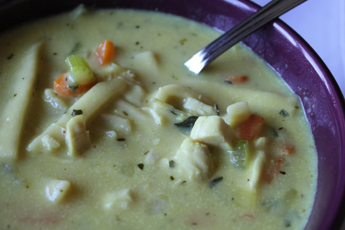 Leftover Thanksgiving Soup My Farmhouse Table Leftover Thanksgiving Recipe Leftover Turkey Recipe Creamy Turkey Noodle Soup Creamy Chicken Noodle Soup Stuffing Recipe