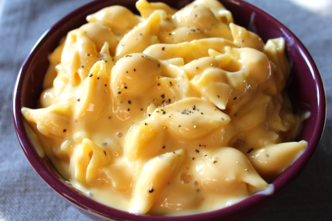 Easy Creamy Macaroni and Cheese Homemade Mac and Cheese Recipe Shells and Cheese with Velveeta Kid-Friendly Lent Meal Ideas The Best Homemade Mac and Cheese Recipe My Farmhouse Table