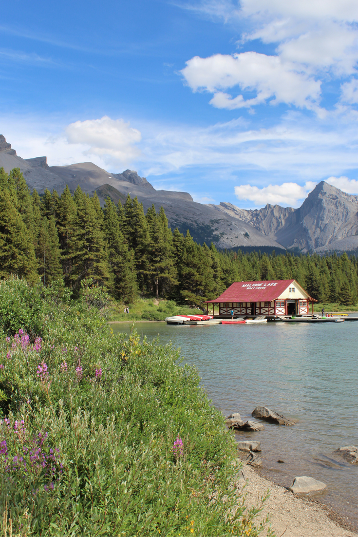 How to Spend a Day in Jasper My Farmhouse Table Canada Maligne Lake
