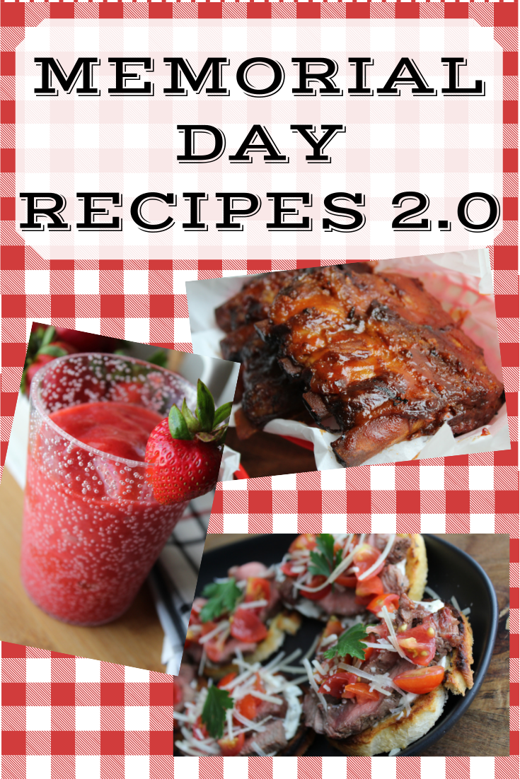 Memorial Day Recipes Memorial Day Food Ideas BBQ Potluck Picnic Food My Farmhouse Table