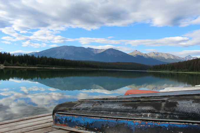 How to Spend a Day in Jasper My Farmhouse Table Canada Patricia Lake