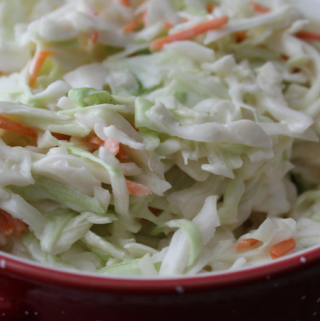 Perfect Coleslaw Creamy Simple Side Dish My Farmhouse Table