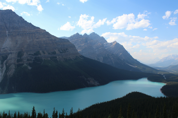 Where to Stop Along Canada's Icefields Parkway My Farmhouse Table Travel Canada Peyto Lake and Bow Summit