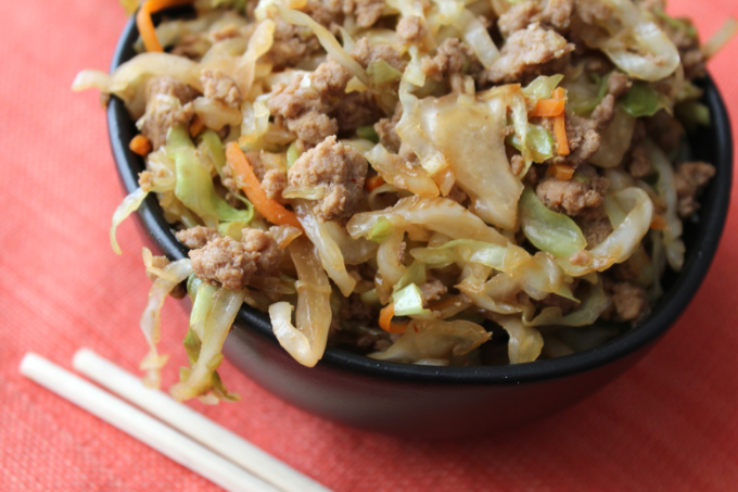 Pork Egg Roll In A Bowl Easy Recipe Healthy Paleo Keto Whole 30 Low Carb Dinner Ideas My Farmhouse Table