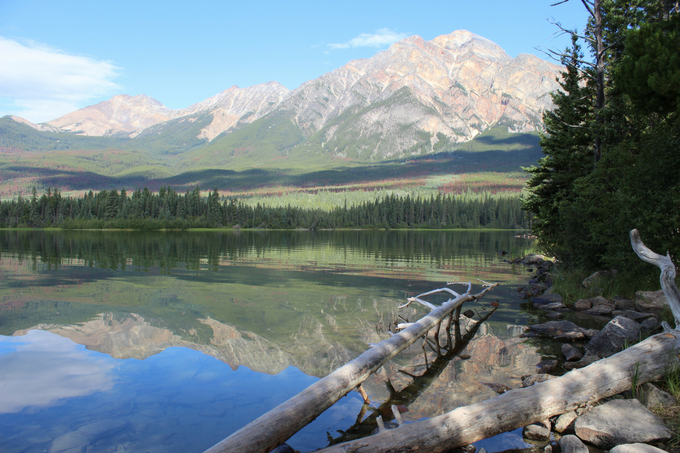How to Spend a Day in Jasper My Farmhouse Table Canada Pyramid Lake
