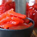 Candied Red Hot Cinnamon Pickles
