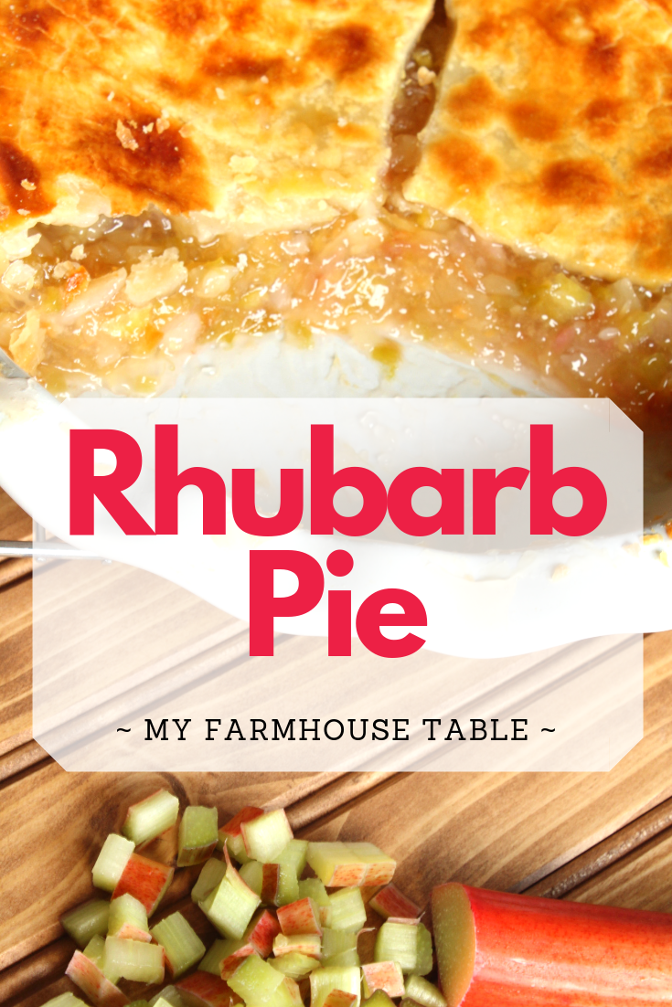 Easy Homemade Rhubarb Pie Recipe Rhubarb Recipes Pineapple Rhubarb Pie The Best Old Fashioned Rhubarb Pie Frozen Rhubarb Recipes My Farmhouse Table