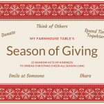 Season of Giving Ideas