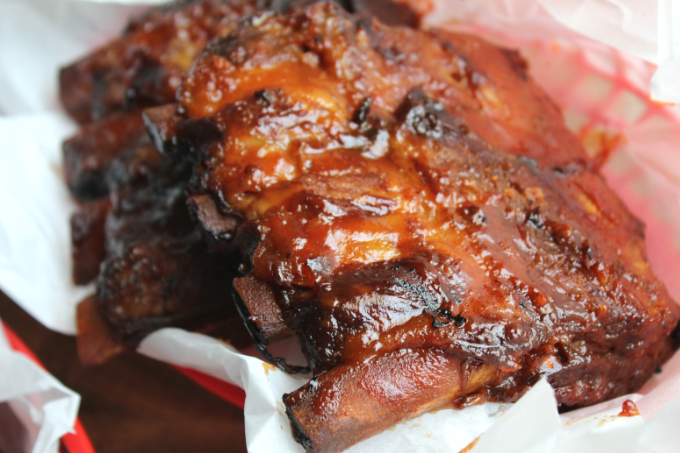 Fall Off The Bone Slow Cooker BBQ Ribs Recipe Smoked Ribs Baby Back Ribs My Farmhouse Table