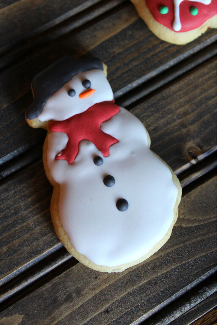 Decorated Christmas Sugar Cookies My Farmhouse Table