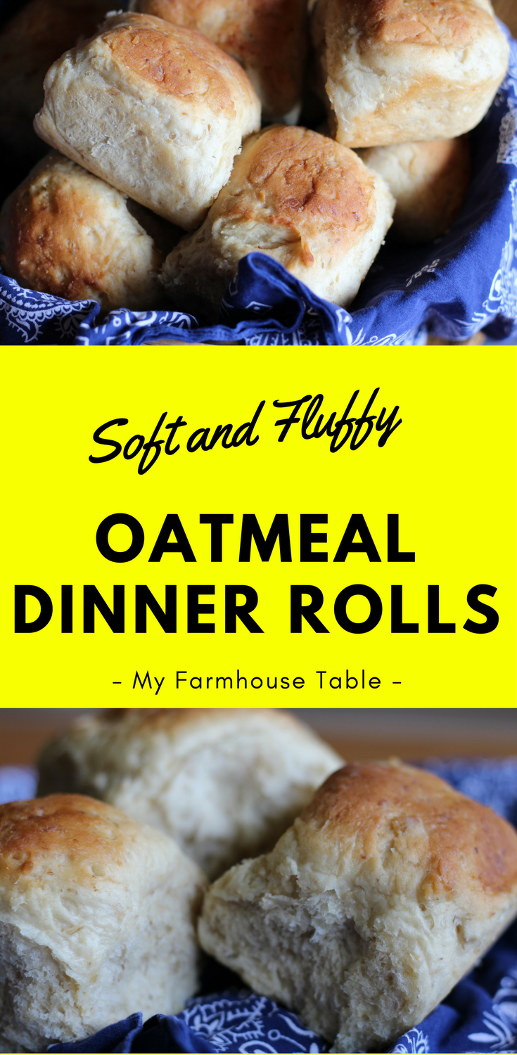 Soft and Fluffy Oatmeal Dinner Rolls Simple and Easy Bread Recipes Thanksgiving Rolls Christmas Rolls Recipes
