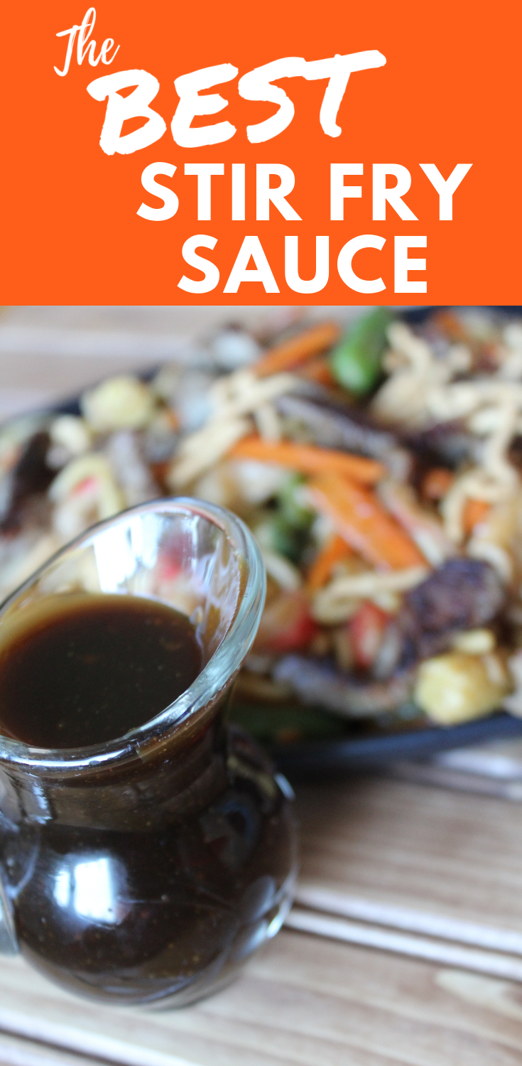 The Best Stir Fry Sauce Teriyaki Sauce Easy Homemade Sauce Chinese Sauce Brown Garlic Sauce Khan's Favorite Sauce Hu Hot Mongolian Grill My Farmhouse Table