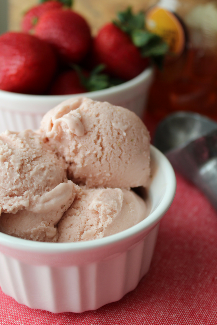 Strawberry Honey Ice Cream My Farmhouse Table Homemade