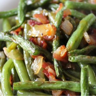 Sweet Chili Sauteed Green Beans