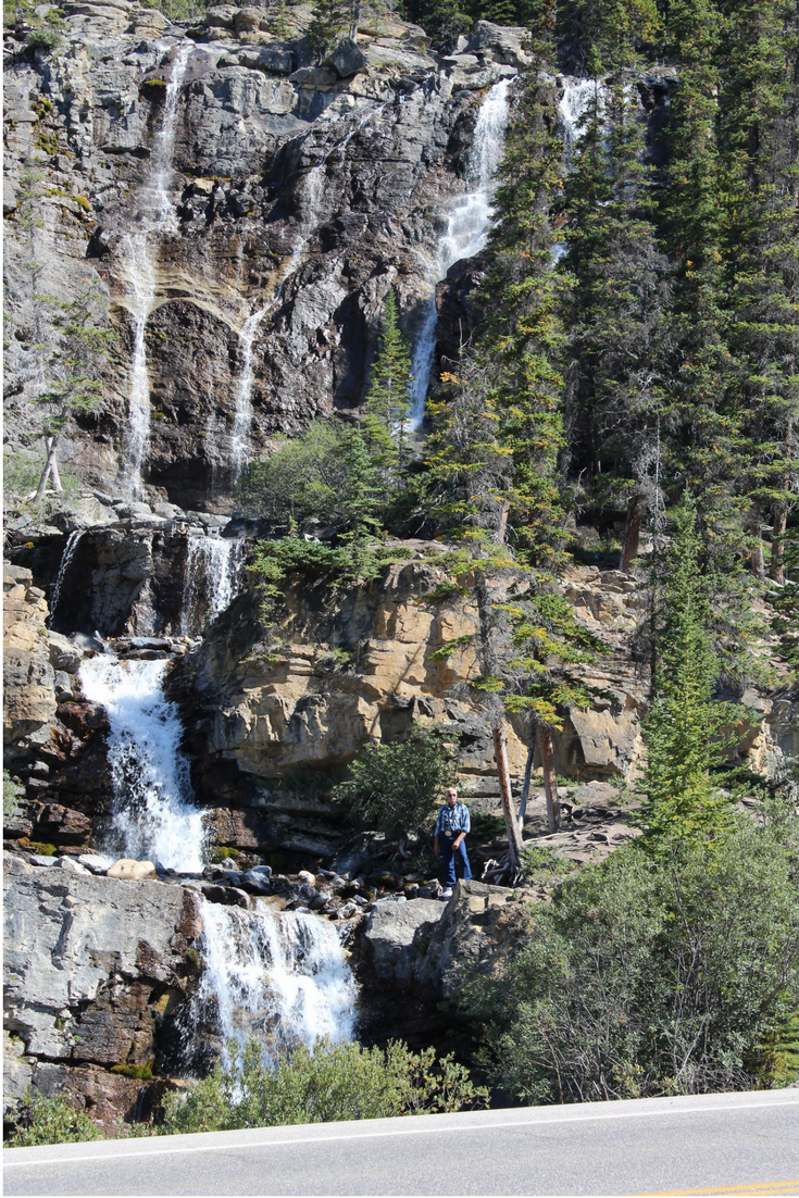 Where to Stop Along Canada's Icefields Parkway My Farmhouse Table Travel Canada Tangle Creek Falls
