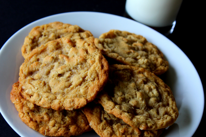 Soft Chewy Oatmeal Cookies My Farmhouse Table