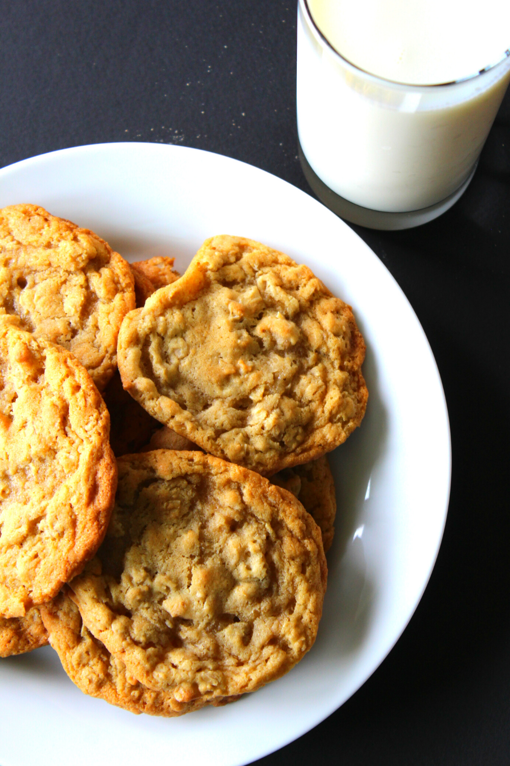 Soft & Chewy Oatmeal Cookies Easy Recipe The Best Quaker Oatmeal Cookies Simple Quaker Oats My Farmhouse Table