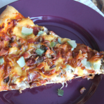 Homemade Bacon Cheeseburger Pizza
